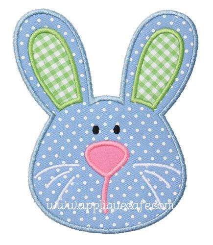 Boy Bunny Applique Design