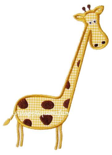 Giraffe 2 Applique Design