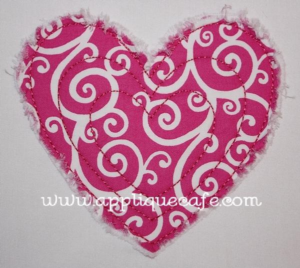 Heart Applique Design