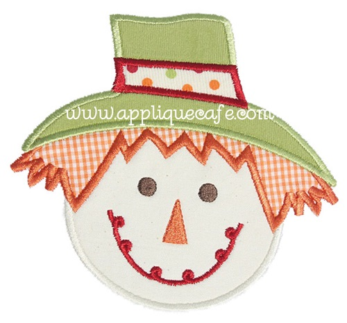 Scarecrow 2 Applique Design