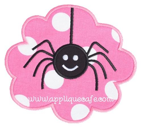 Spider Patch Applique Design