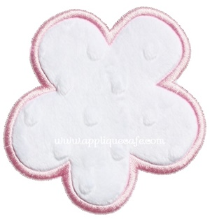 Bunny Tail Applique Design