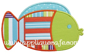 Fish Applique Design