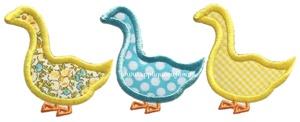Geese Applique Design