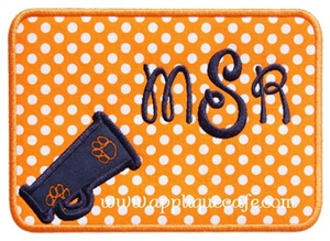 Megaphone Patch 2 Applique Design