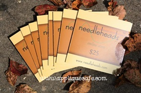 Needleheads Gift Card