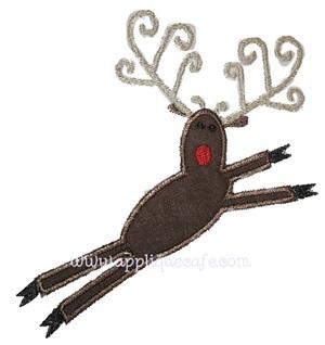 Reindeer Applique Design