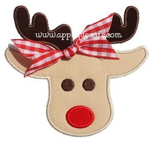 Rudolph 2 Applique Design