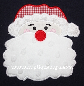 Santa Claus Applique Design