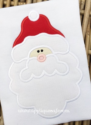 Santa Claus 4 Applique Design