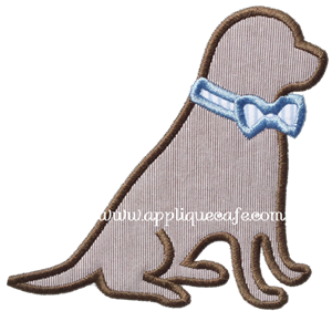 Southern Dog Applique Design