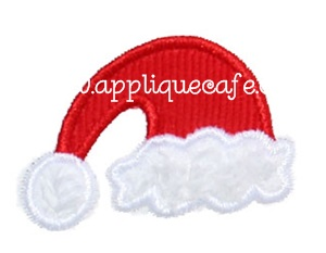 Add a Santa Hat Applique Design