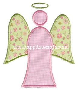 Angel 2 Applique Design