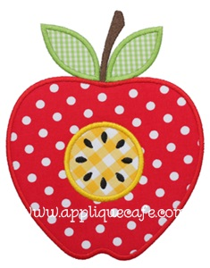 #653 Apple 2 Applique Design