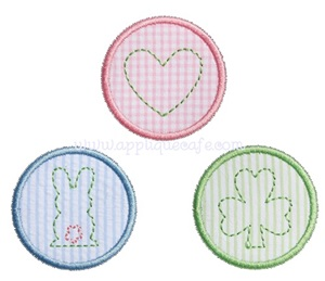 Baby Patches Applique Design