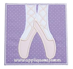 Ballet Patch Applique Design