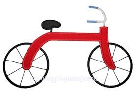 Bicycle Applique Design