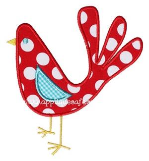 Bird 2 Applique Design