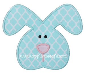 Boy Bunny 2 Applique Design