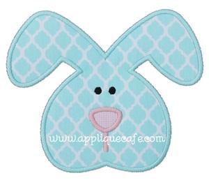 Boy Bunny 2 Applique Design