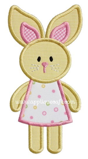 Bunny 10 Applique Design