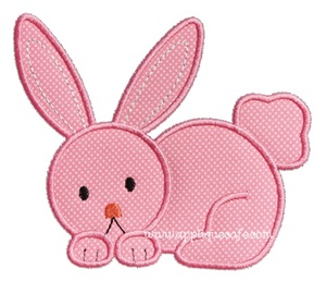 Bunny 11 Applique Design