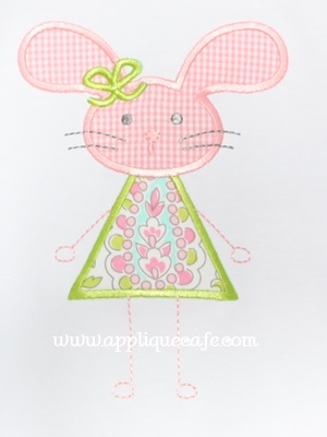 #979 Bunny 13 Applique Design