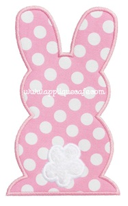 Bunny 2 Applique Design