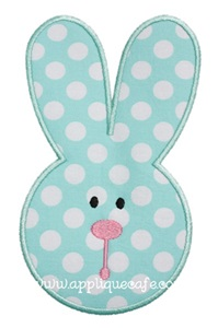 Bunny 3 Applique Design