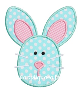 Bunny 4 Applique Design