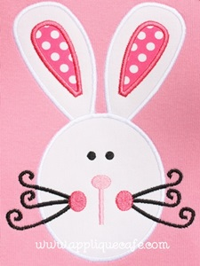 Bunny 7 Applique Design