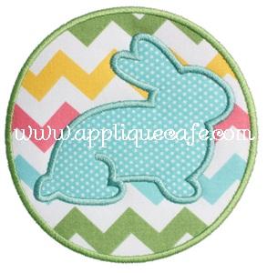 Bunny Patch 2 Applique Design