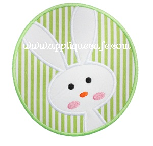 Bunny Patch 3 Applique Design