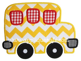 Bus 2 Applique Design