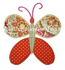 Butterfly1 Applique Design