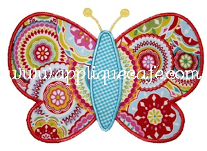 Butterfly 3 Applique Design