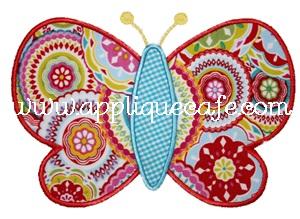 Butterfly 3 Applique Design