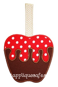 Candy Apple Applique Design
