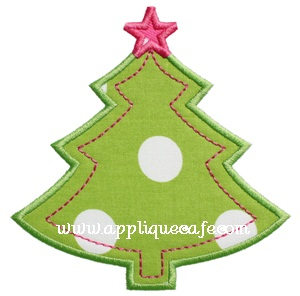 Christmas Tree 6 Applique Design