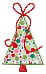 Christmas Tree 7 Applique Design