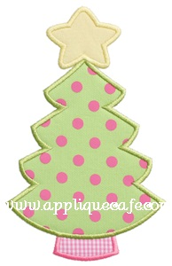 Christmas Tree 8 Applique Design
