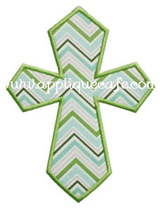 Cross2 Applique Design