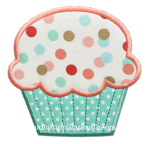 Cupcake 2 Applique Design