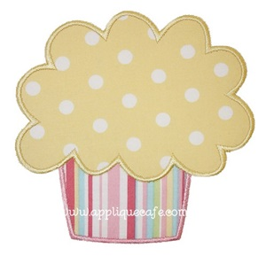 Cupcake Applique Design