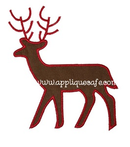 Deer Applique Design