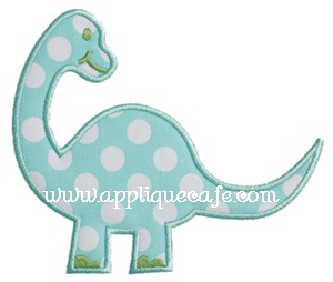 Dinosaur Applique Design