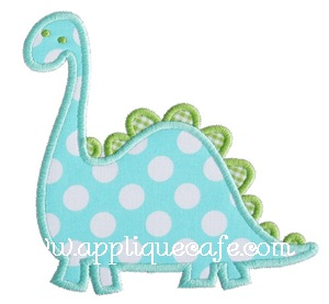 Dinosaur 2 Applique Design