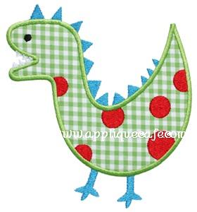 Dinosaur 3 Applique Design