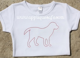 Dog 2 Embroidery Design