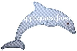 Dolphin Applique Design